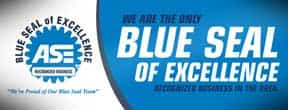 ASE Certified Blue Seal of Excellence